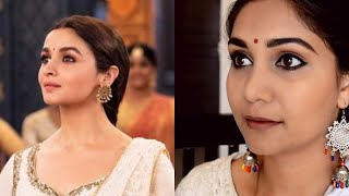 Ghar More Pardesiya Alia Bhatt Kalank Inspired Makeup Look using Affordable Makeup | Nidhi Katiyar
