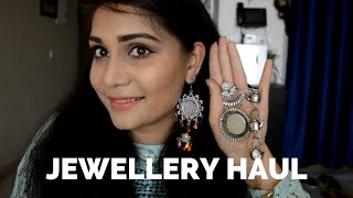 Jewellery Haul - Affordable Oxidized Jewellery Haul | Nidhi Katiyar