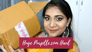 Huge Purplle.com Makeup & Skin Care Haul | Loreal, Milan, Good Vibes & NY Bae