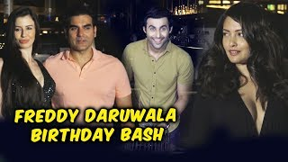 Freddy Daruwala GRAND Birthday Party | Arbaaz Khan With Girlfriend, Riya Sen, Daisy Shah