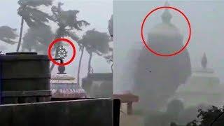 Puri Jagannath Temple Highly Affected by Fani Cyclone | पूरी मैं चक्रवाती तूफान फानी का तांडव रूप