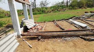 5000 capacity Poultry Farm Completely destoryed by Cyclone FANI