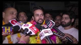 16 MAY N 3 B 1  Anurag Thakur narrated Sidhu wrong to PM Modi when Sidhu calls Fake Number One PM