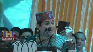 16 MAY N 9Union Minister Smriti Irani arrived in Kangra to campaign for BJP candidate Kishen Kapoor