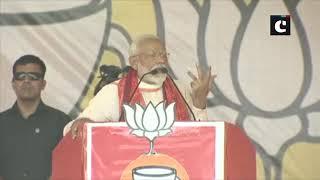 Bua, Babua & Congress' 'Naamdar' divide people on the basis of casteism: PM Modi