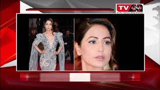 Hina Khan Shines Bright Like A Diamond In Her Red Carpet Debut