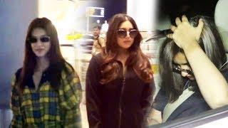 Kriti Sanon Bhumi Pednekar And Parineeti Chopra Spotted At airport