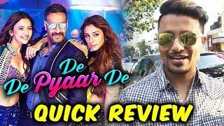 De De Pyaar De QUICK REVIEW | Ajay Devgn Tabu Rakul Preet Singh