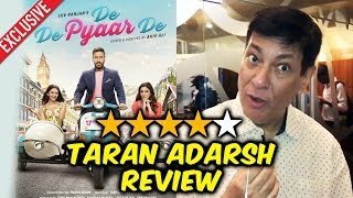 De De Pyaar De Review By Taran Adarsh | Ajay Devgn Tabu, Rakul Preet Singh | EXCLUSIVE