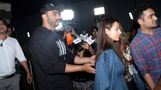 Arjun Kapoor And Malaika Arora At Indias Most Wanted Screening