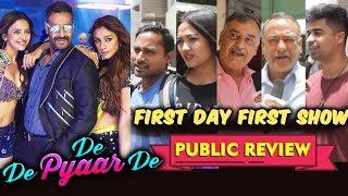 De De Pyaar De PUBLIC REVIEW | First Day First Show | Ajay Devgn, Tabu, Rakul Preet Singh