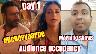 De De Pyaar De Audience Occupancy Day 1 Morning Shows