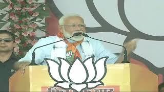 PM Shri Narendra Modi addresses public meeting in Khargone, Madhya Pradesh : 17.05.2019