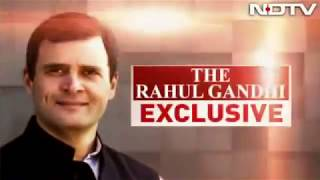 Congress President Rahul Gandhi's Interview to NDTV