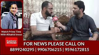 Physically challenged youth from Boniyar Baramulla appeals to JK Bank to Waive of loan