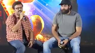 Aladdin Movie Press Meet II Venkatesh II Rana II