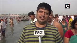 Buddha Purnima: Devotees take holy dip in Ganga in Prayagraj