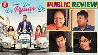 'De De Pyaar De Public Review | Ajay Devgn | Rakul Preet Singh | Tabu | Jimmy Shergill | Luv Ranjan