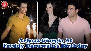 Arbaaz Khan At Freddy Daruwalas Birthday Bash With GF Giorgia Andriani
