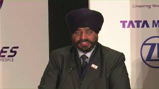 Welcome Address by CMA Balwinder Singh, Vice President of the Institute