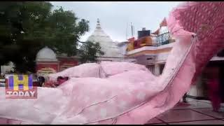 18 MAY N 5 Shree Naina Devi temple was fully inhabited by devotees due to sharp storms