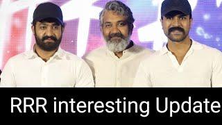 RRR Movie Updates | Ram Charan | Jr NTR | SS Rajamouli |Top Telugu TV