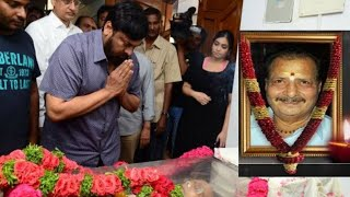 Chiranjeevi Pays Homage to Rallapally Narasimha Rao Demise | Top Telugu TV