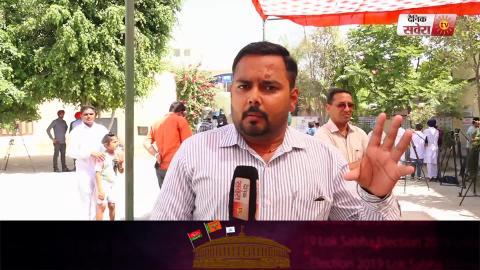 Voting In Punjab : Ex CM Parkash Singh Badal ने डाला Vote