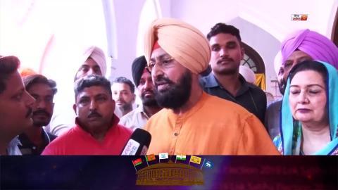 Voting In Punjab : Jakhar के लिए प्रचार ना करने वाले Partap Bajwa ने Wife समेत डाली Vote