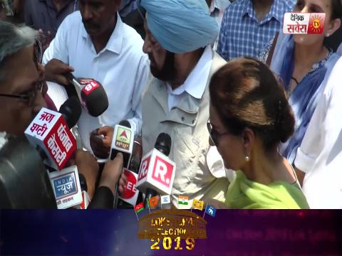 Super Exclusive Interview of Harsimrat Badal on Dainik Savera after Polling Vote