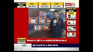 #LokSabhaElections2019 : 7वें फेज के लिए आज होगी वोटिंग,PM MODI समेत कई दिग्गजों की किस्मत दांव पर