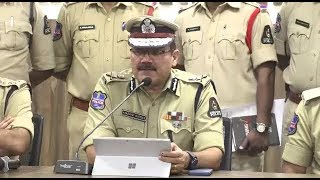 The Most Wanted Thief Arrested By Hyderabad City Plice | CP Anjani Kumar Speaks |