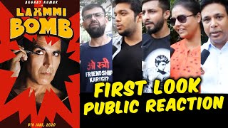 LAXMMI B0MB First Look | PUBLIC REACTION | Akshay Kumar