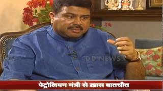 Interview to DD on completion of one year of Shri Narenda Modi Govt