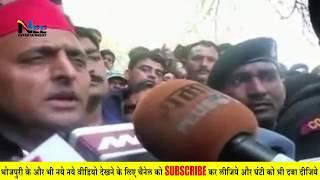 एग्जिट पोल आने के बाद #अखिलेश यादव ने क्यों कहा - मुझे भी गुफा में भेज दो!! AkhileshYadavInterview