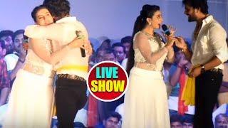 #Khesari Lal Yadav और #Akshara Singh का जबरदस्त #Stage Show - चला चदरा में अदरा - Live Stage Show