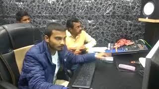 Holi Song Recording in Studio - खोला ना डारी रंगवा - Sarvendra Bhojpuriya - Live Holi Song 2018