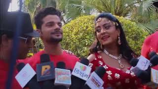 Album लाखो में बाड़ू एक पीस - Star Cast Interview Shubhi Sharma और Rahul Singh