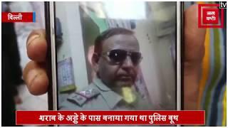 शराब माफिया पर Sub inspector की पीट-पीटकर हत्या करने का आरोप