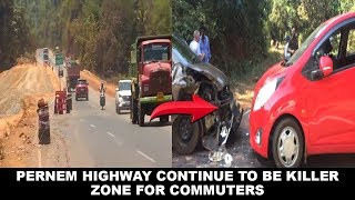 Pernem Highway Continue To Be Killer Zone For Commuters