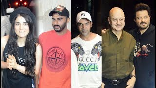 Anil Kapoor Arjun Kapoor & others Celebs At Indias Most Wanted Screening