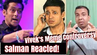Salman Khan Finally Reacted To Vivek Oberoi's Meme