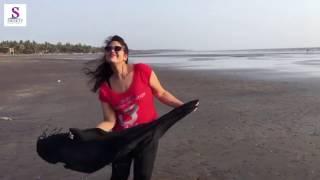 कवने साँचा में ढाल देहले   Bhojpuri Heroin Ka Live Bhojpuri Gaane Pe Beech Pe Akele Dance