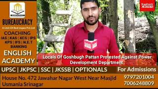Locals Of Goshbugh Pattan Protested Against Power Development Department Pattan