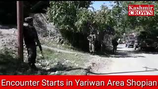 SHOPIAN ENCOUNTER UPDATE | BETWEEN FORCES AND MILITANTS IN SHOPIAN