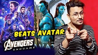 Avengers Endgame BEATS Avatar At The Domestic Box Office