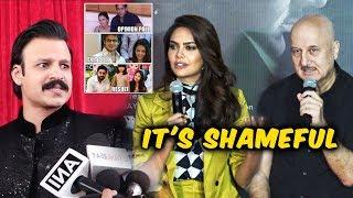 Its SHAMEFUL Vivek Oberoi Says Anupam Kher And Esha gupta | Salman-Aishwarya Meme Controversy