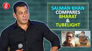 Salman Khans HILARIOUS Comparison Between Bharat' & 'Tubelight'