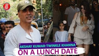 Akshay Kumar Out On A Lunch Date With Twinkle Khanna