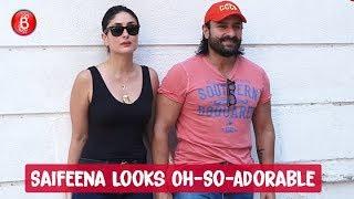 Saif Ali Khan and Kareena Kapoor Look Oh-So-Adorable Togther